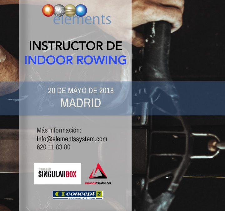 PRÓXIMO CURSO INDOOR ROWING EN MADRID