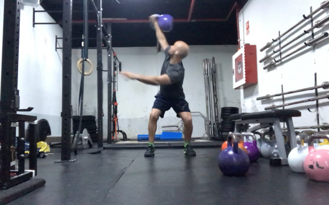 SNATCH LATERAL CON KETTLEBELL