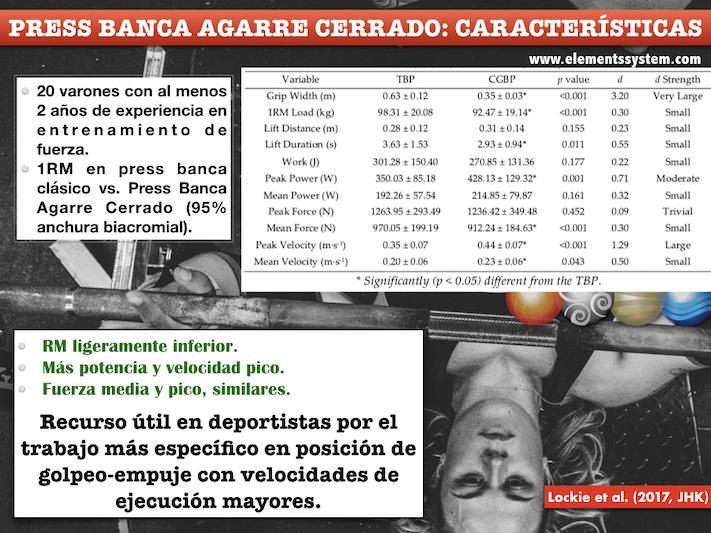 PRESS BANCA AGARRE CERRADO