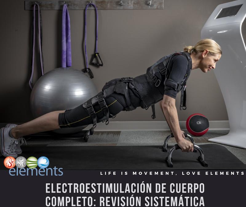 ARTÍCULO LIBRE ACCESO: REVISIÓN SOBRE CHALECOS DE ELECTROESTIMULACIÓN