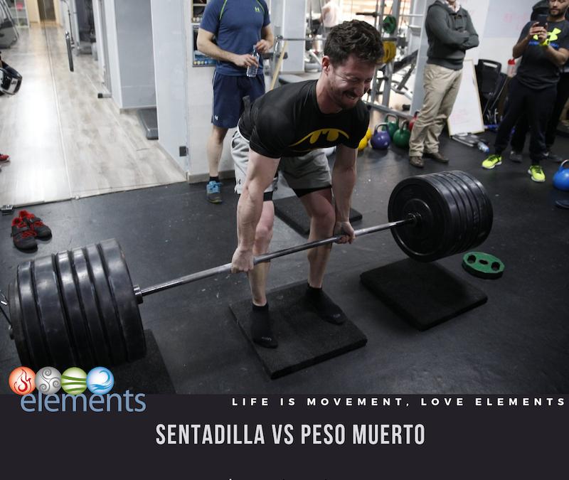 SENTADILLA VS PESO MUERTO