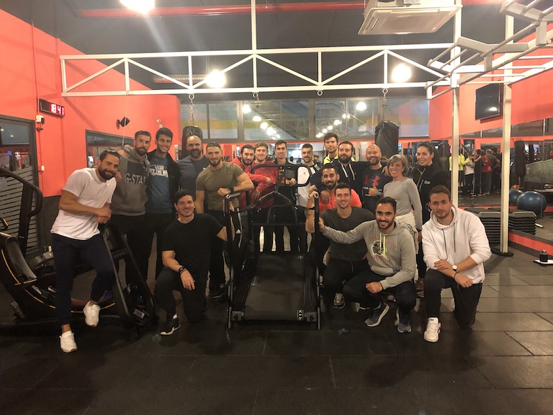 HIIT WORKOUT CON S-DRIVE Y S-FORCE