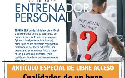 CUALIDADES DEL BUEN ENTRENADOR PERSONAL