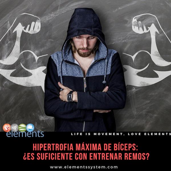 HIPERTROFIA MÁXIMA DE BÍCEPS: ES SUFICIENTE CON HACER REMOS CON MANCUERNA???