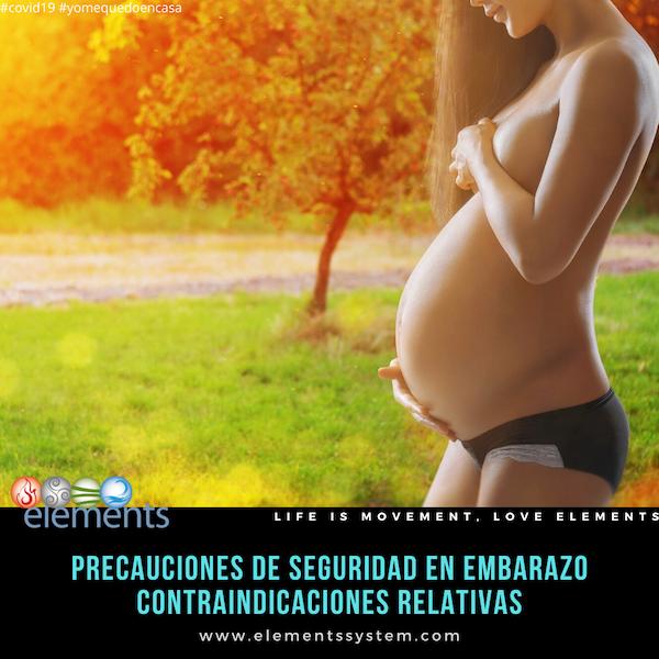 EJERCICIO DURANTE EL EMBARAZO: CONTRAINDICACIONES RELATIVAS