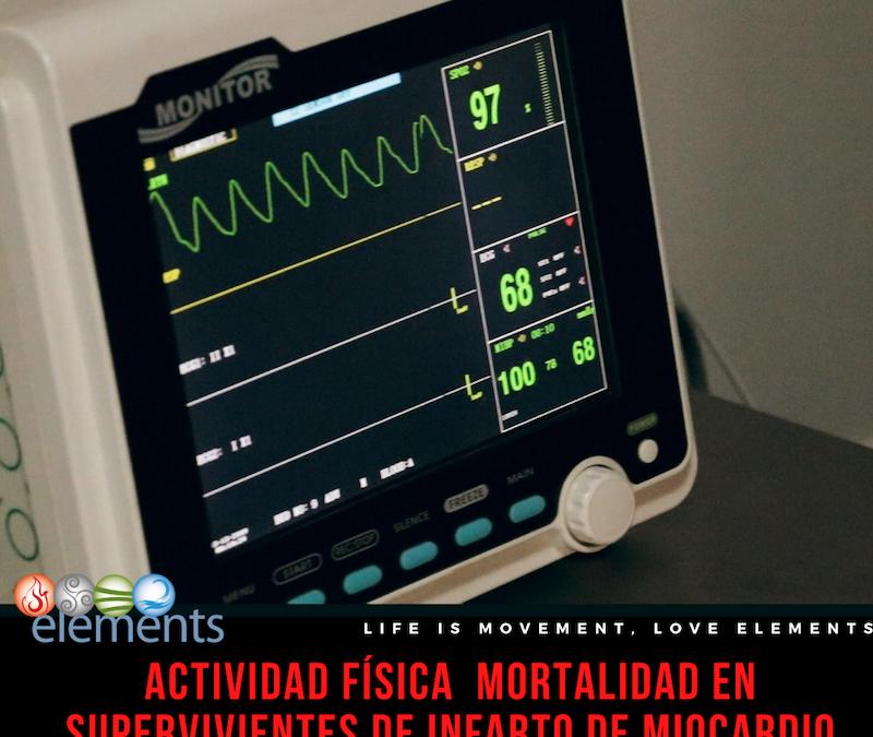 REDUCE RIESGO MORTALIDAD EN INFARTADOS