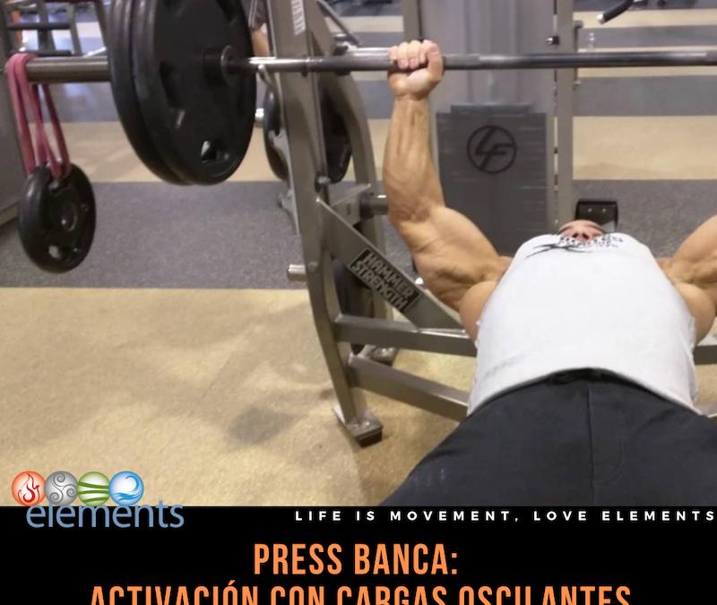 PRESS BANCA CON CARGAS OSCILANTES
