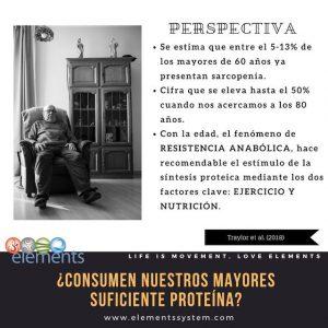 PROTEÍNAS Y MAYORES 6